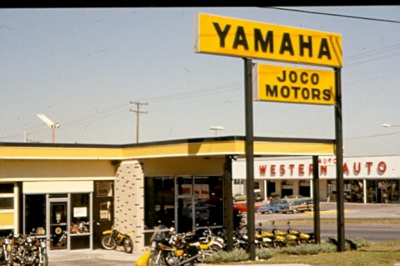 History 1968 1974 for Kansas city yamaha dealers