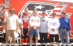 Retro RedLine team fltr: Greg Grubbs, Stu Thomsen, Dennis Dain, Greg Hill, David Clinton, Bob Hadley