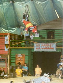 The first ever no hander back-flip by TODD LYONS during the 1993 European Challenge Cup