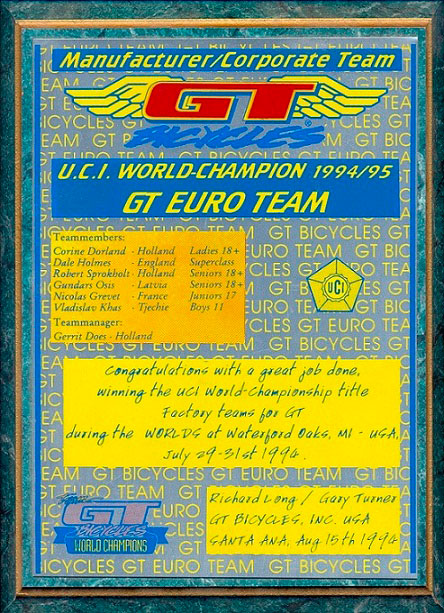 1994 GT Champ World Teams