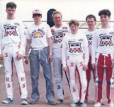 1985: MOTOBECANE Factory Team Holland