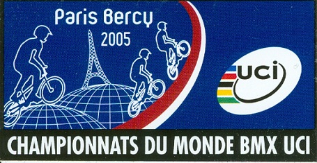 UCI BMX WORLD CHAMPIONSHIPS AT BERCY Paris France
