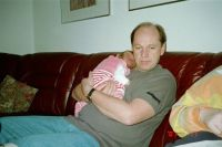 Stefan-Ekwall-Sweden-2004-relaxing-with-his-grandson