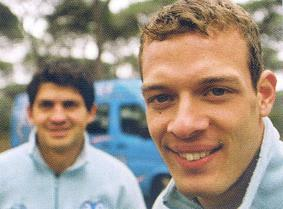 On left Markus Rainer, right Alexander Wurz